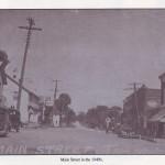 Main St 1940's