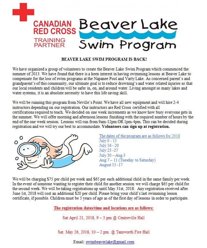 beaverlakeswimposter2018